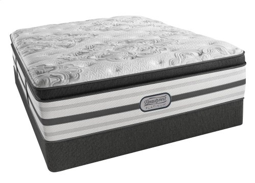 Beautyrest - Platinum - Hybrid - Romeo - Plush - Box top
