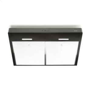 BroanTenaya 30-inch 300 CFM Black Under-Cabinet Range Hood with LED light