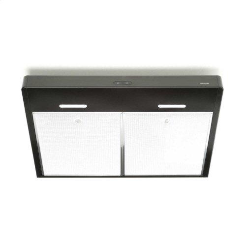 Tenaya 36-inch 300 CFM Black Under-Cabinet Range Hood with LED light