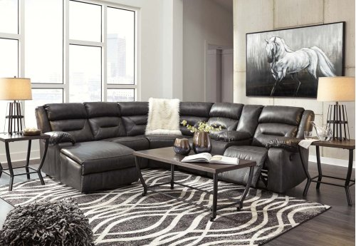 Coahoma - Dark Gray 7 Piece Sectional