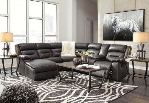 Coahoma - Dark Gray 4 Piece Sectional