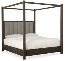 Bedroom Miramar Aventura Jackson Cal King Poster Bed w-Tall Posts & Canopy