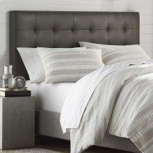 Mila Gray Tufted Upholstered Full/Queen Headboard