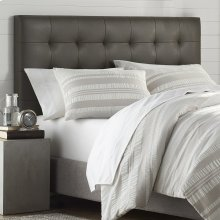 Mila Gray Tufted Upholstered Full/Queen Headboard