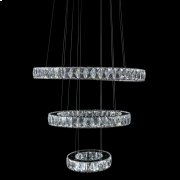 Asteroids LED Chandelier Round Rings Product Image