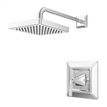 Polished Chrome 1-Handle Shower Only Trim