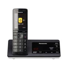Cordless Phone with Smartphone Connect and Slim Base KX-PRW130W- 1 Handset