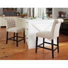 Tripton - Medium Brown Set Of 2 Dining Room Barstools