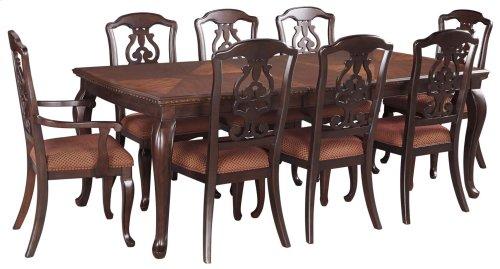 Gladdenville - Brown 9 Piece Dining Room Set