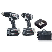 18V 4.2Ah Impact Driver Combo Kit with Dual Voltage Technology