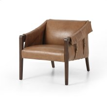 Warm Taupe Dakota Cover Bauer Leather Chair