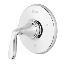Polished Chrome 1-Handle Tub & Shower Valve Only Trim