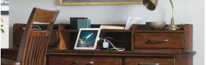 Home Office Wendover Smart Hutch