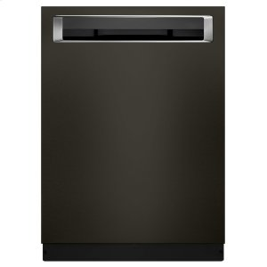 KitchenAid39 DBA Dishwasher with Fan-Enabled ProDry System and PrintShield Finish, Pocket Handle Black Stainless Steel with PrintShield™ Finish