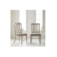 Brookhaven-Vietnam Slat Back Side Chair Product Image