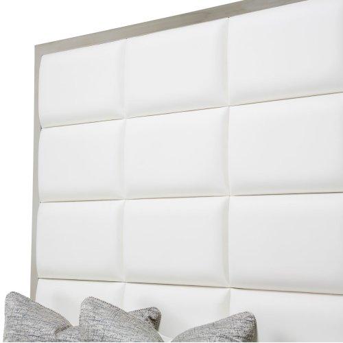 Eastern King Metal Panel Bed (3 Pc)