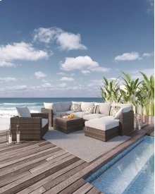 Spring Dew - Gray 7 Piece Patio Set