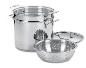 12 Quart Pasta/Steamer Set (4 Piece Set)