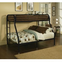 TRITAN BLACK T/F BUNK BED