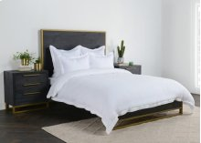 Harlow White King Duvet 108x94