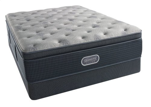 BeautyRest - Silver - Charcoal Coast - Summit Pillow Top - Luxury Firm - Twin