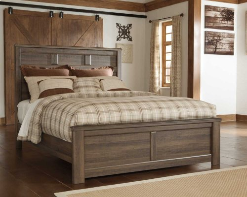 Ashley Queen Poster Bed with Storage