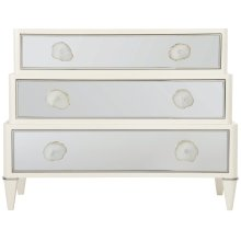 Calista Drawer Chest in Silken Pearl (388)