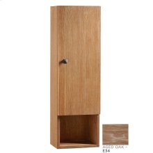 "Transitions 12"" x 39"" Bathroom Wall Cabinet in Aged Oak"