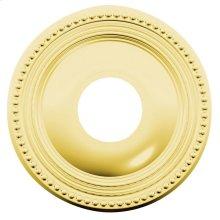 Lifetime Polished Brass R008 Estate Rose