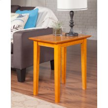 Shaker Chair Side Table Caramel Latte