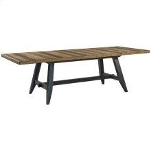 Urban Rustic Trestle Dining Table