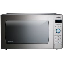 2.2 Cu. Ft. Built-In/Countertop Microwave Oven with Inverter Technology - Stainless Steel - NN-SE982S