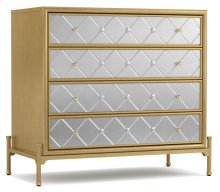 Living Room Harlequin Four-Drawer Accent Chest