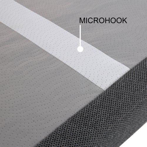 Sunrise 2 Slim-Profile Adjustable Bed Base for Platform Beds with Adjustable Legs, Charcoal Gray, Queen