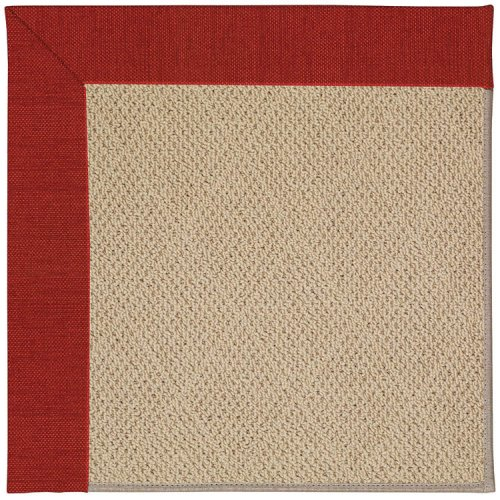 Creative Concepts-Cane Wicker Canvas Cherry Machine Tufted Rugs