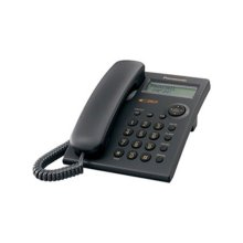 1 Line, Caller ID Integrated Telephone System, Black