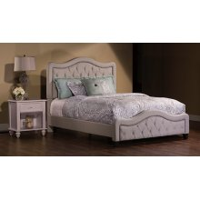 Trieste King Bed Set - Dove Gray