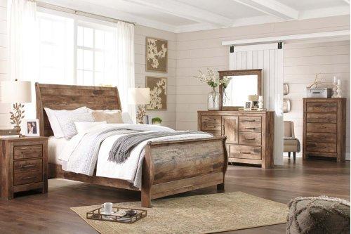 Blaneville - Brown 5 Piece Bedroom Set