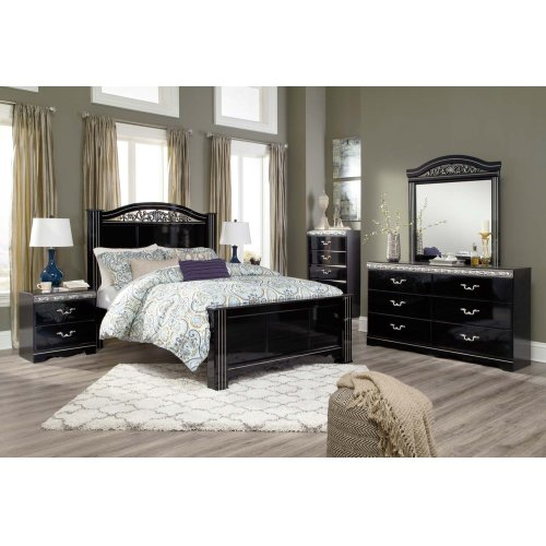 Queen Poster Bed Package