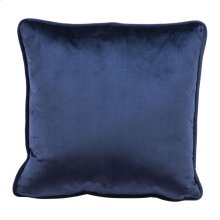 Velvet Pillow Blue