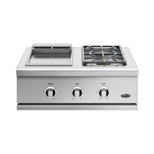 "Dcs30"", Series 9, Griddle/side Burner, Natural Gas"