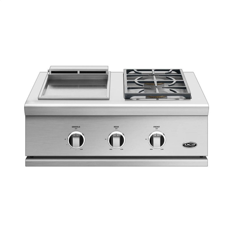 "30"", Series 9, Griddle/side Burner, Lp Gas"
