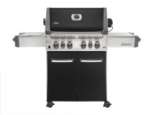 Napoleon Prestige Series Prestige 500 black with Infrared Rear and Side Burners