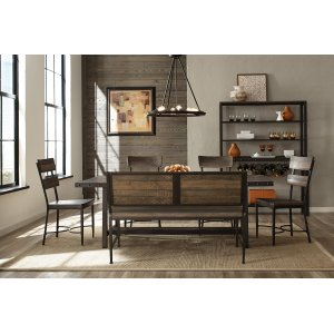 Hillsdale FurnitureJennings 6 Piece Dining Set With Bench