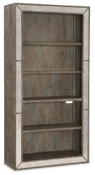 Home Office Rustic Glam Bookcase Product Image