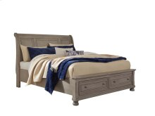 Lettner - Light Gray 3 Piece Bed Set (King)