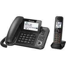 Link2Cell Bluetooth® Corded / Cordless Cordless Phone and Answering Machine with 1 Cordless Handset