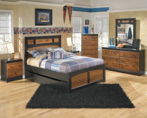 Aimwell - Dark Brown 2 Piece Bedroom Set