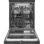 "GE ®24"" Stainless Steel Interior Portable Dishwasher With Sanitize Cycle"