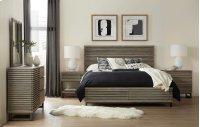 Bedroom Annex Queen Panel Bed w/ Storage Footboard Product Image